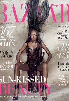 Link Buzz: Naomi Campbell for Harper's Bazaar Vietnam; Would You Get a Butt Facial?
