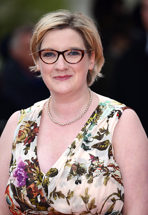 Sarah Millican Bafta Dress