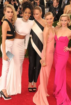 Here's a Photo of Stella McCartney Squeezing Rihanna's Butt Like It's Going Out of Style [Met Gala]