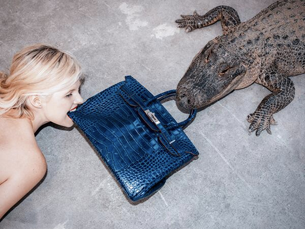 Tyler Shields Birkin Alligator