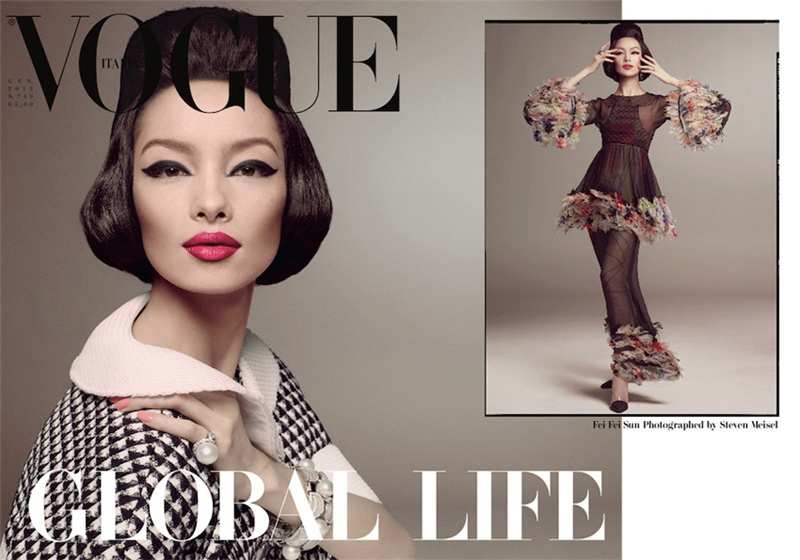 Lori Goldstein Steven Meisel for Vogue Italia