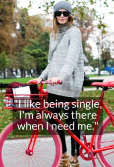 14 Quotes That Prove It's Awesome to Be Single
