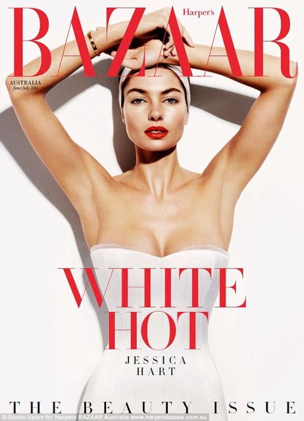 Harper's Bazaar Australia June / July 2014 Jessica Hart