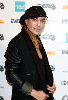 Is John Galliano Presenting at the British Fashion Awards?