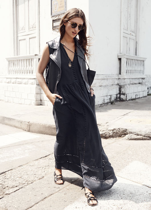 Madewell piazza maxidress, $168