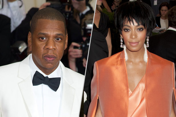 Solange Knowles Pictured Next to Jay-Z