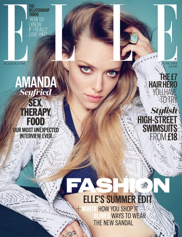 UK Elle June 2014 Amanda Seyfried