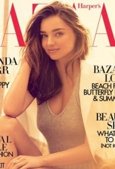 Miranda Kerr and Pup Franki (Awww) Land the June Cover of UK Harper's Bazaar (Forum Buzz)