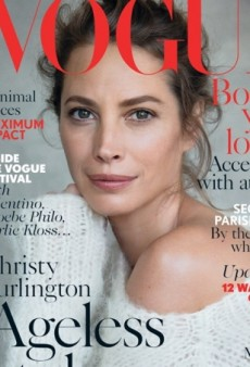 18 Years Later, Christy Turlington is Back on the Cover of UK Vogue (Forum Buzz)