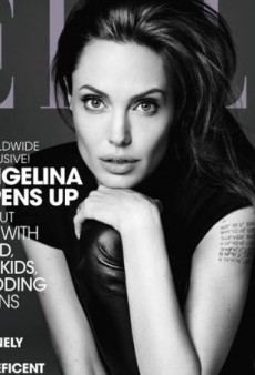 Elle Lands Angelina Jolie by Hedi Slimane for June Cover (Forum Buzz)