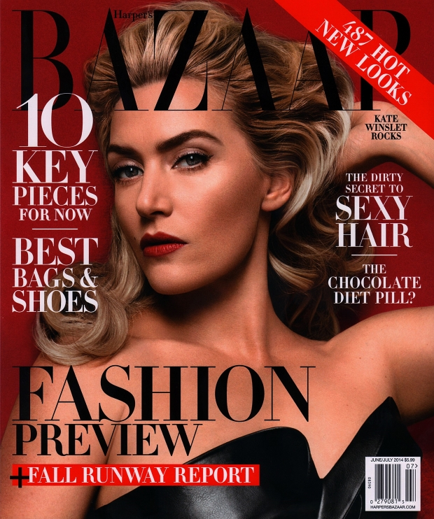 US Harper's Bazaar June July 2014 Kate Winslet