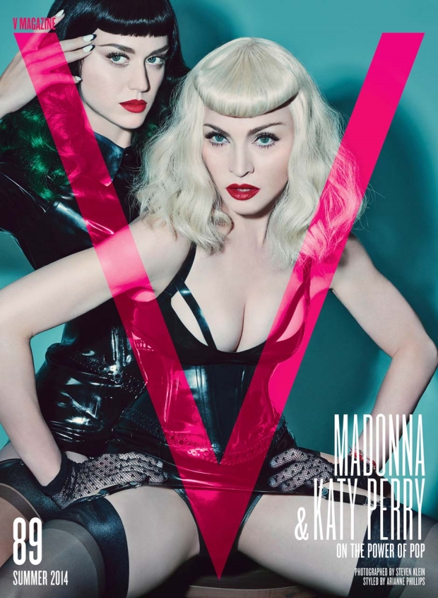 V Magazine Summer 2014 Katy Perry Madonna