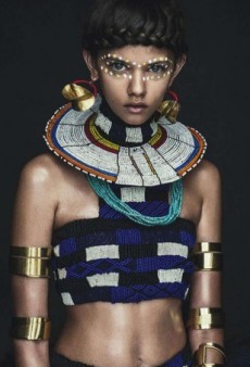 "How Did This ""Tribal"" Vogue Australia Editorial Get a Racism Pass?"