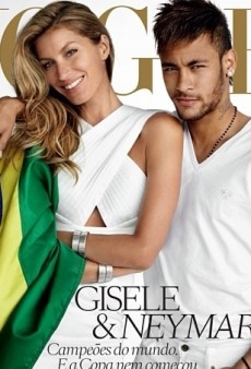 Gisele Bundchen and Neymar are Vogue Brazil's June Cover Stars (Forum Buzz)