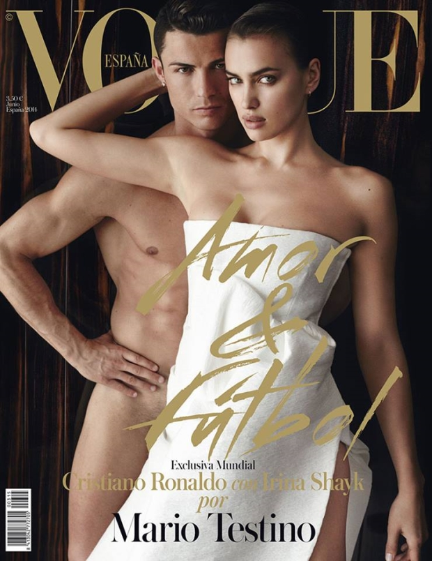 Vogue Spain June 2014 Cristiano Ronaldo & Irina Shayk