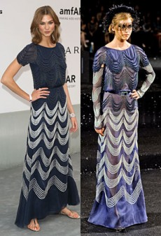 Runway to Real Life: Sofia Coppola in Marc Jacobs, Karlie Kloss in Chanel Couture and More (Forum Buzz)