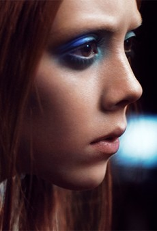 Natalie Westling Shows a Little Skin for the Marc Jacobs Beauty Fall 2014 Campaign