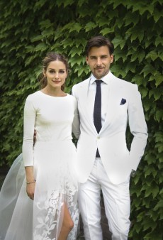 Olivia Palermo's Wedding 'Dress' Isn't What We Expected
