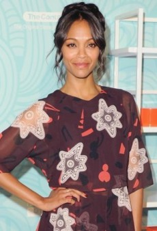 Zoe Saldana Steps Out in Chloe for the Step Up 11th Annual Inspiration Awards