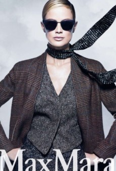 Carolyn Murphy Returns as the Face of Max Mara's Fall 2014 Ad Campaign (Forum Buzz)