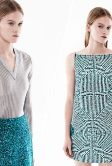 A Labyrinth-Inspired Feel for Dion Lee's Resort 2015 Collection
