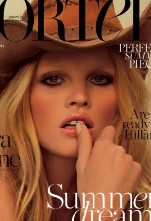 porter-magazine-summer-escape-summer-2014-lara-stone-portrait