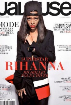 Rihanna's Fashion Week Photos are Good Enough for a Jalouse Cover