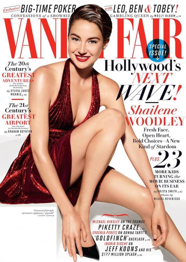 Vanity Fair July 2014 Shailene Woodley