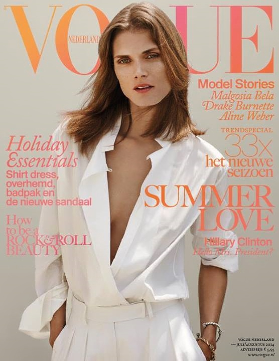 Vogue Netherlands July August 2014 Malgosia Bela