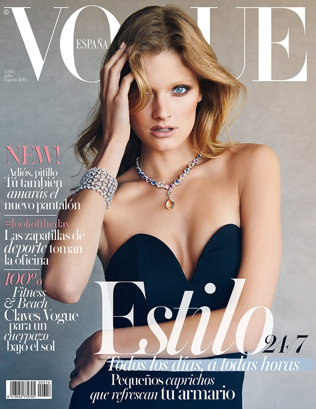 Vogue Spain July 2014 Constance Jablonski Patrick Demarchelier