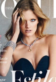 Constance Jablonski's Vogue Spain Cover 'Makes Her Look Like a Glamorous Migraine Sufferer' (Forum Buzz)