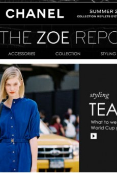 The Zoe Report to Launch E-Commerce