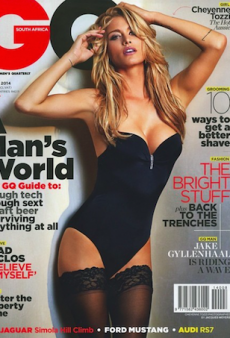 Cheyenne Tozzi Talks About Her Modelling Family in GQ South Africa's August Issue