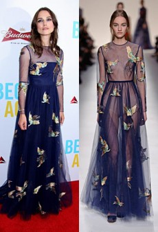 Runway to Real Life: Keira Knightley in Valentino, Candice Swanepoel in Christian Dior and More (Forum Buzz)