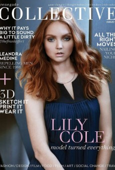 Renegade Collective Explains Decision to Put Lily Cole on Cover