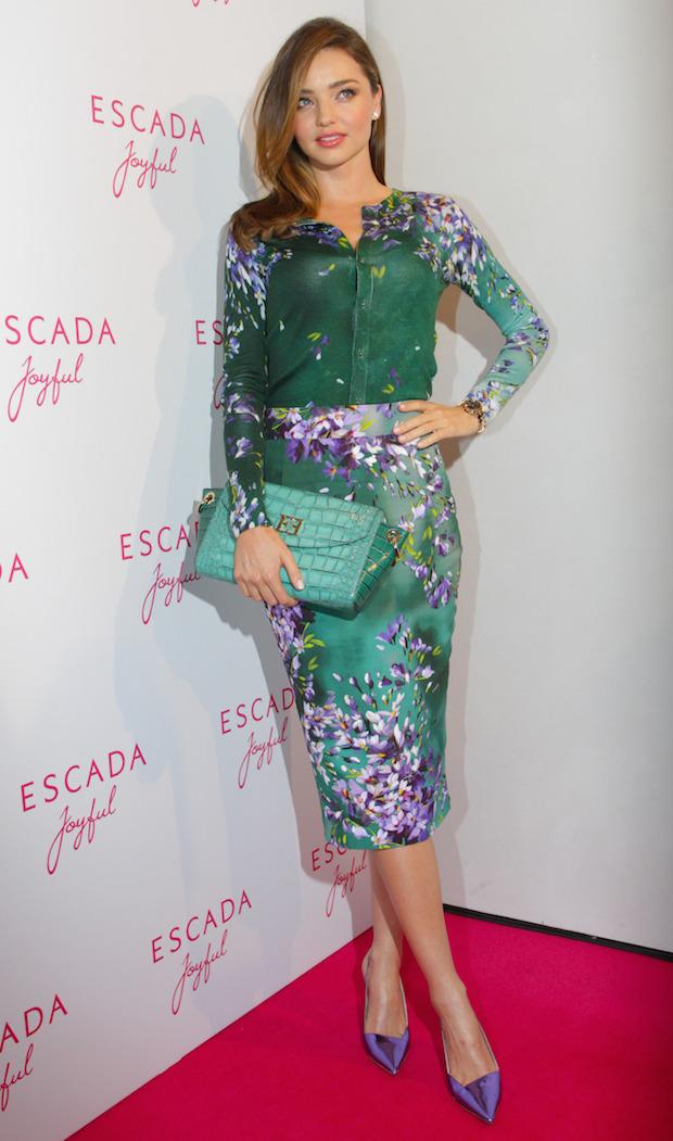 Miranda Kerr Escada