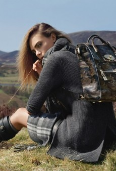 Cara Delevingne Escapes to the Country for Mulberry's Fall 2014 Ad Campaign (Forum Buzz)