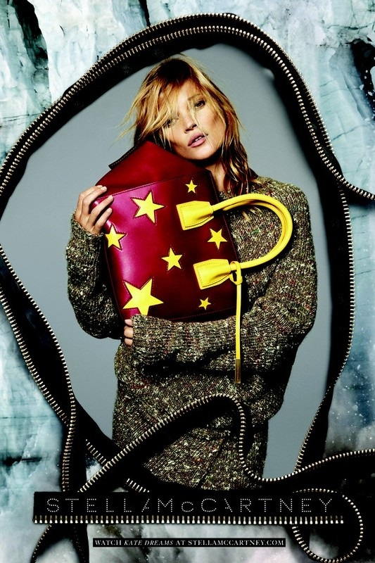Ad Campaign Stella McCartney Fall 2014 Kate Moss Mert & Marcus