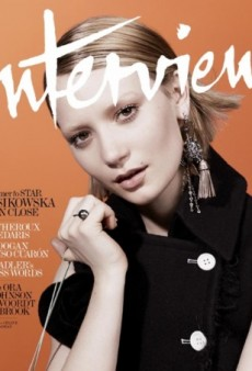 Interview's August Cover with Mia Wasikowska is 'Dull But Still Beautiful' (Forum Buzz)