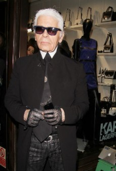 Karl Lagerfeld Proves He Is the Busiest Man in Fashion