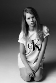 Calvin Klein Jeans and Mytheresa Team Up for Re-Issue Collection, Starring Lottie Moss