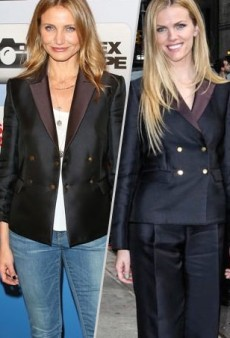 Style Showdown: Cameron Diaz and Brooklyn Decker Suit Up in The Row and More Matching Celebs