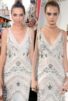 Style Showdown: A Pair of Models Break Out the Beads in Roberto Cavalli and More Matching Celebs