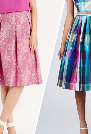 Midi Skirts Shapely