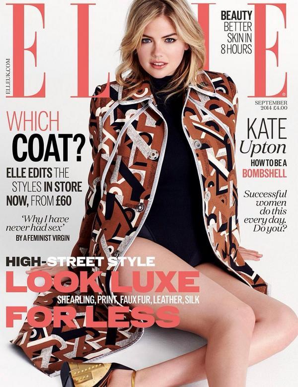 UK Elle September 2014 Kate Upton Matt Jones