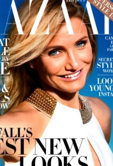 A Radiant Cameron Diaz is Harper's Bazaar August Cover Girl (Forum Buzz)