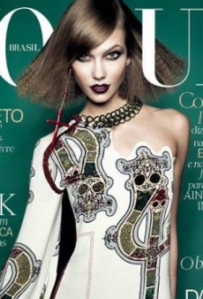 Vogue Brazil's July Cover with Karlie Kloss is 'Weird and Almost Scary' (Forum Buzz)