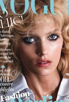 Anja Rubik's Latest Vogue Cover is 'Very 80s, But in the Best Possible Way' (Forum Buzz)