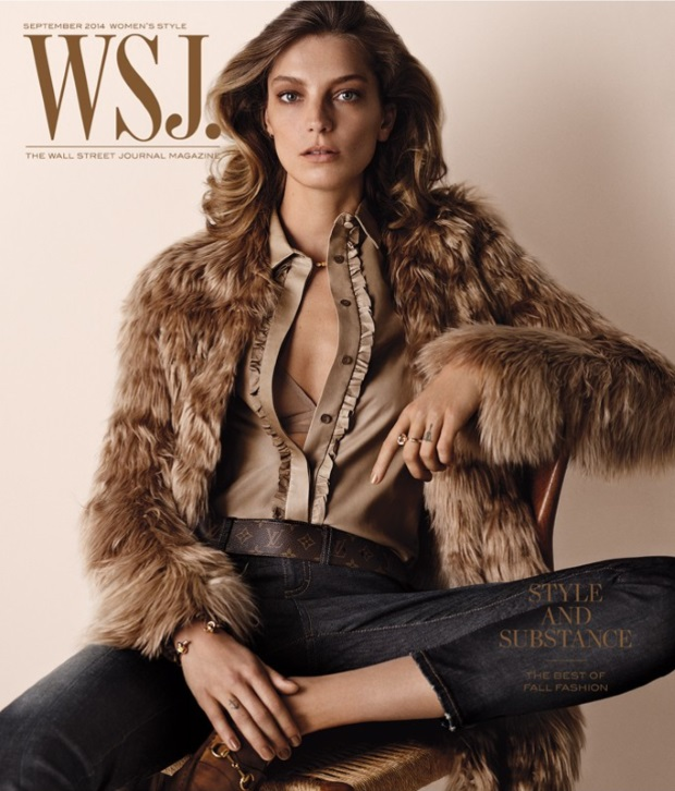 WSJ September 2014 Daria Werbowy Josh Olins