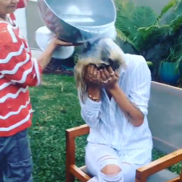 Cheyenne Tozzi ALS Ice Bucket